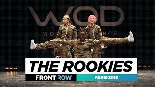 The Rookies ft  ALLin Dance Crew Marlee amp Will  FRONTROW  World of Dance Paris 2019  WODFR19