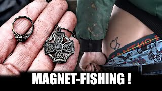 The tender men go magnet fishing, safes and jewelry!