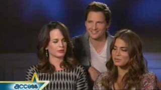 Access Hollywood - Elizabeth Reaser, Peter Facinelli, Nikki Reed Take 'Eclipse' Up A Notch