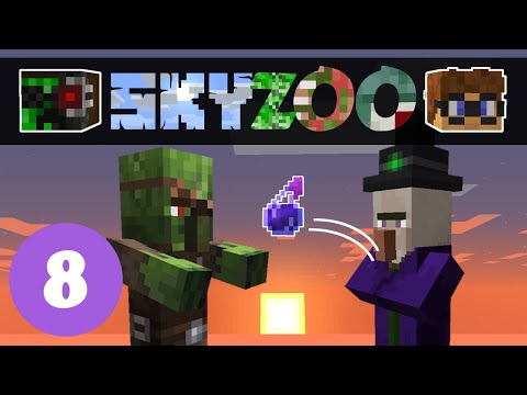 Sky Zoo #8: Zombie Doctor | Minecraft Skyblock 1.14