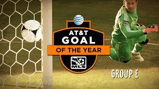 2014 AT&T Goal of the Year Nominees: Group E