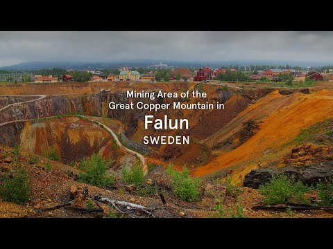 Mining Area of the Great Copper Mountain in Falun, Sweden - World Heritage Journeys