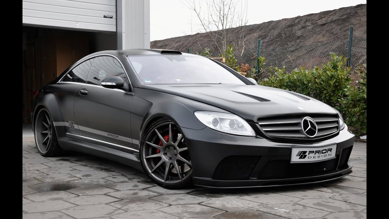 prior design mercedes benz cl 500 w216 youtube