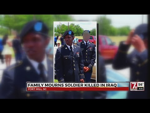 Soldier with ties to Greenville County dies in Iraq