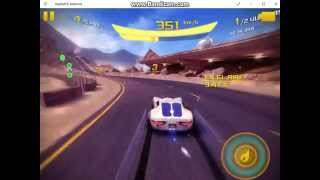 Gameplay MP Asphalt 8 on windows 10 pc - Mario MB vs. Alexander Fidel feat. LAG