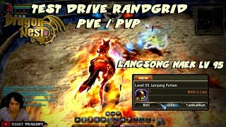 Lv 95 Jumping Potion - Test Drive Randgrid PVE / PVP !!! Dragon Nest INA - New Update November 2018