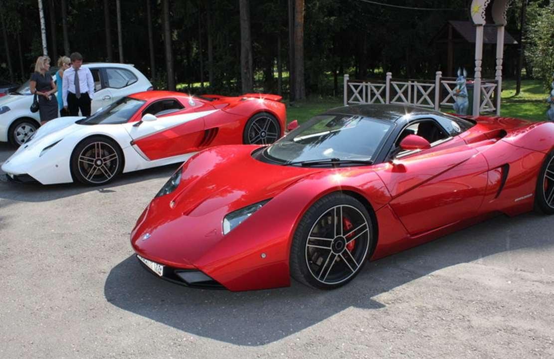 Exceptional Marussia B1 [RUSSIAN SUPER AUTO]