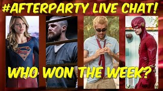 LIVE! Arrowverse AFTERPARTY Ep. 5! The Flash, Arrow, Supergirl & Legends! @djairrick @pagmyst