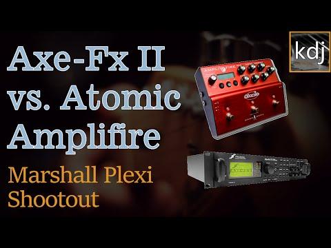 Axe-Fx II vs. Atomic Amplifire - Marshall Plexi Shootout