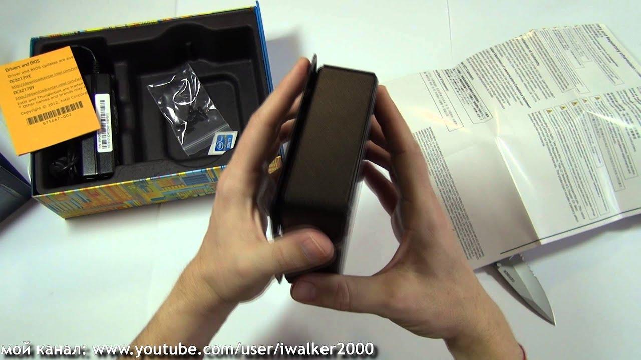 миниДесктопы: достаем из коробки и собираем Intel NUC