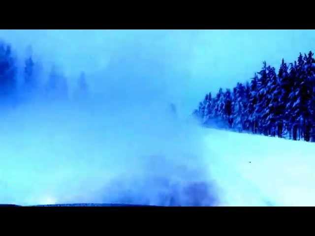 Nordkapp Vintertur 2015 - video 9 - Uheld