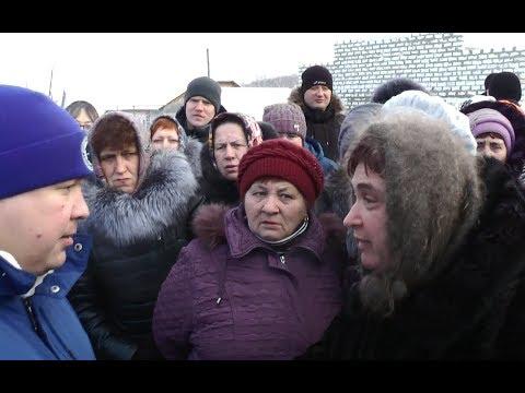 Сход жителей в Скале Колыванский район