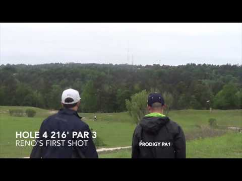 2015 National Collegiate Disc Golf Championship Round 3 - Oregon vs. Reno; Dunipace Dunes