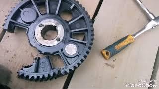 Трохи зламався !!! Заміна шестерні ГРМ ,УМЗ-4216