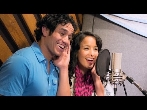 ALADDIN on Broadway  In the Recording Studio