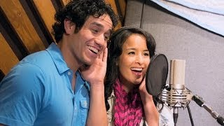 ALADDIN on Broadway - In the Recording Studio