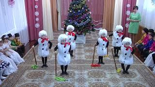 Новогодние танцы. Танец снеговиков
