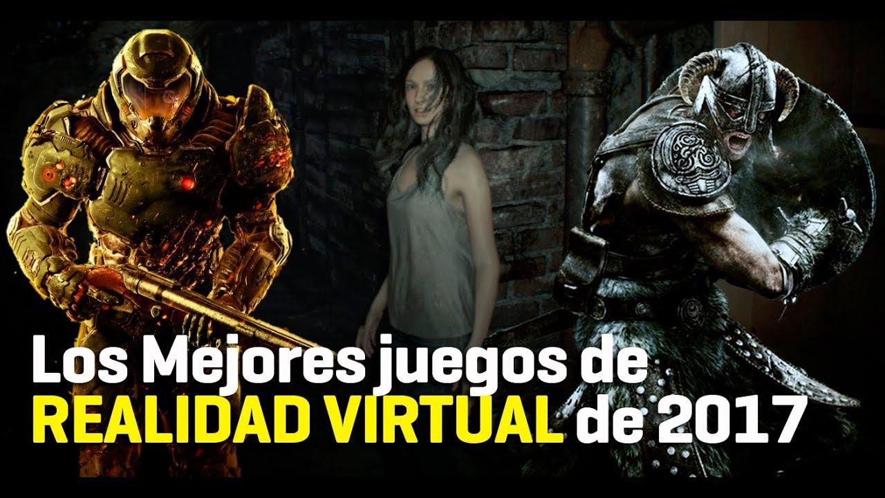 Los Mejores Juegos En Realidad Virtual De 2017 Youtube