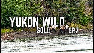 14 Days Solo Camṗing in the Yukon Wilderness - E.7 - Grizzly Bears & Pancakes for Dinner