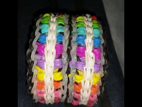 A New Rainbow Loom Design! Krissiz Krossez