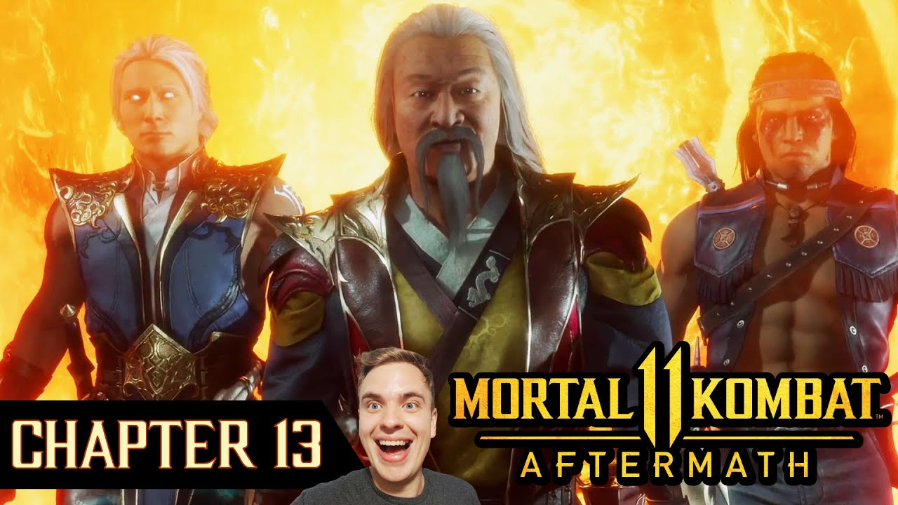 MK11 Aftermath. Chapter 13. New Story is Incredible! Crazy Plot Twist! Epic Reaction and Gameplay.