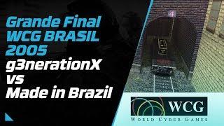 g3nerationX vs Mibr Grande Final WCG 2005 Brasil