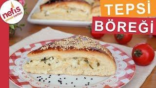 Yufkasız Peynirli Tepsi Böreği Tarifi - Kolay Börek Tarifleri - Nefis Yemek Tarifleri