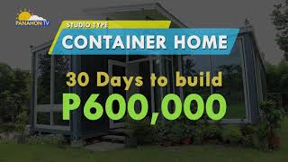PANAHON TV REPORTS   Container House
