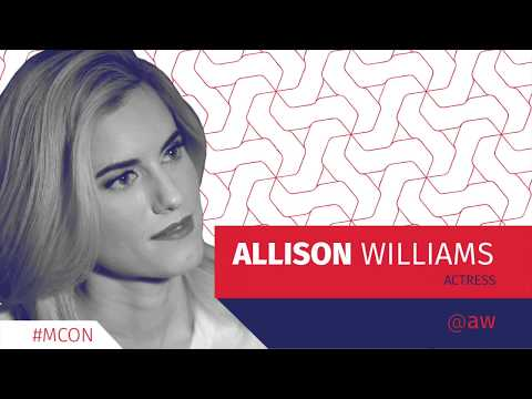 Allison Williams  MCON 2017
