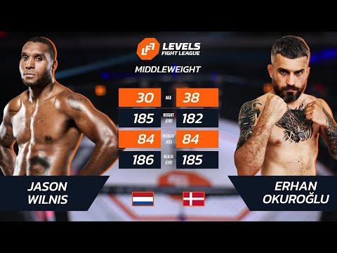Free Fight Jason Wilnis's MMA debut (Former Glory champ w/wins over Adesanya, Pereira, & Joe Schilling)