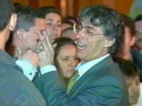 bossi a saronno 1995 finale comizio youtube