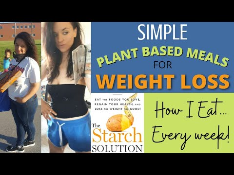 """Simple """"One & Done"""" Plant Based Meals For WEIGHT LOSS 