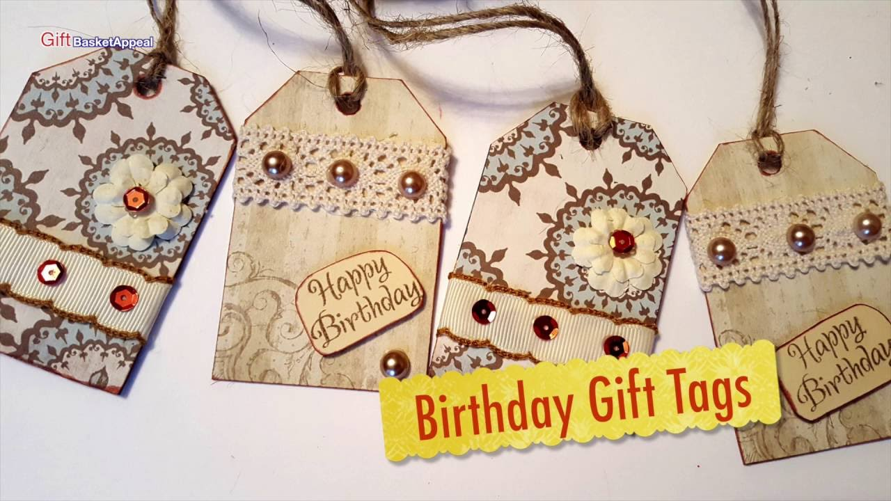 Birthday Gift Tags For My Mom