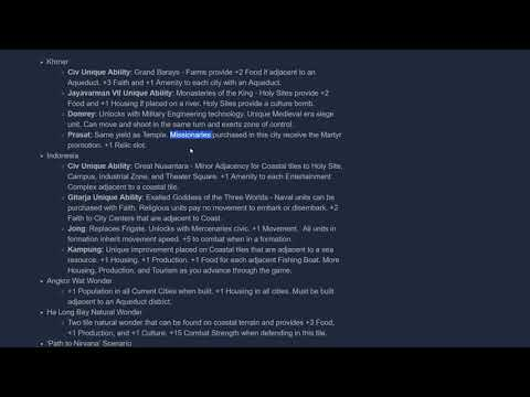 Civilization VI 'Fall 2017 Update' Available Now [New Civs: Khmer and Indonesia]