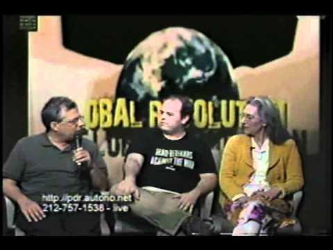 Occupy Wall Street -- Iraq war Veteran Jerry Bordeleau.