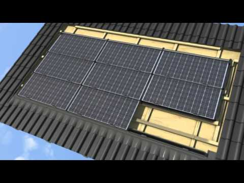 GehrTec® Intra - The rainproof photovoltaic roof-integrated system
