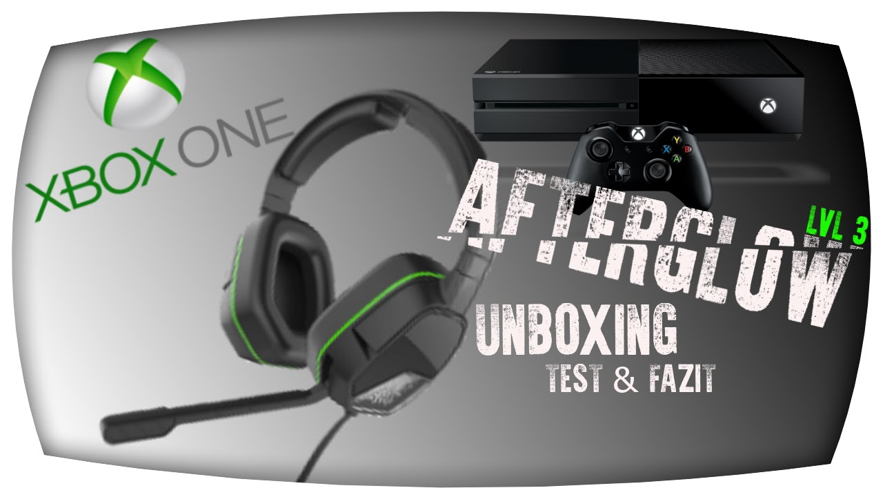 70605292599 Unboxing PDP Afterglow LVL 3 Stereo Gaming Headset - YouTube