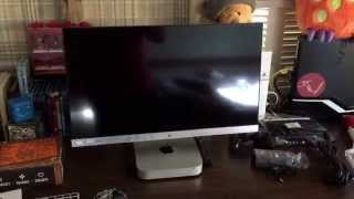 the hp 25cw led monitor unboxing
