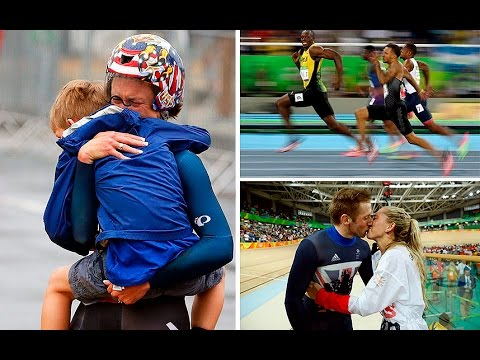 Heartwarming moments from the 2016 Rio Olympic Games