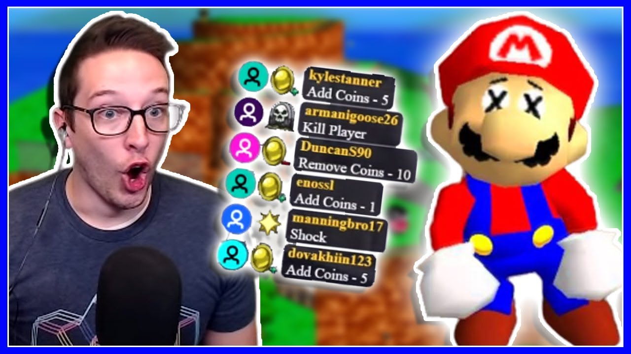 It's Mario 64, But 1000 People Are Trying To Destroy Mario!!!
