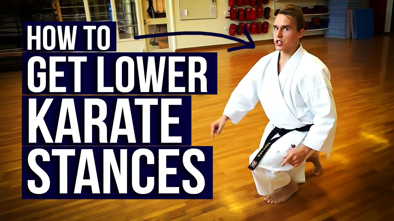 Great Karate Exercise To Train Deep Stances Jesse Enkamp Youtube