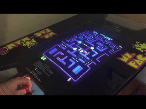 Pacman / Ms. Pacman Multigame High Score Save Kit Review! Highscoresaves.com