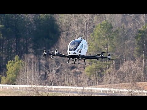 image for Flying Taxi Makes U.S. Debut at North Carolina Demonstration