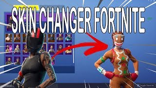 SKIN CHANGER AT FORTNITE HOW TO CATCH RARE SKINS ET RARE EMOTES UPDATE 7.1