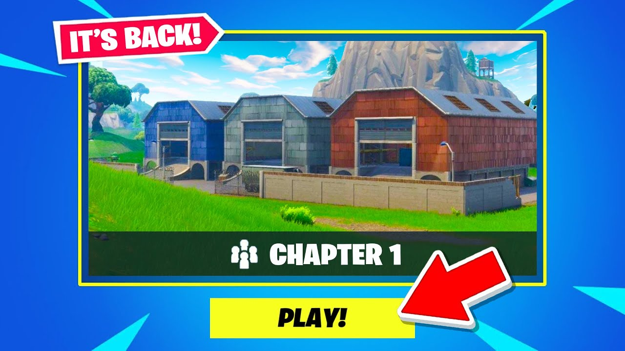 CHAPTER 1 Map is *BACK*! (PLAY NOW)