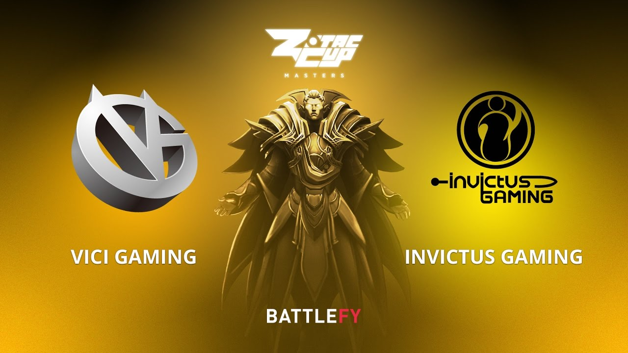 Vici Gaming vs Invictus Gaming, Game 1, Zotac Cup Masters, CN Qualifier