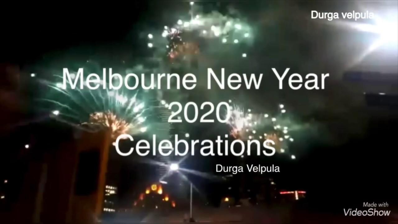 ️HAPPY NEW YEAR 2020⭐️🌷// #Australia #Melbourne New Year Fireworks 2020 - YouTube