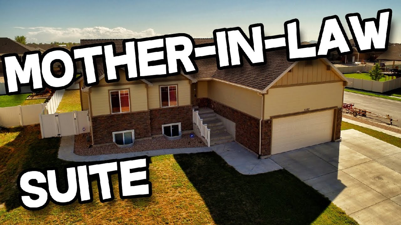 6 bed 3 full bath rambler home for sale hooper ut mother for Modular homes with inlaw suites