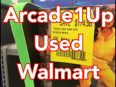 Walmart Selling Used Arcade1Up Cabinets Arcade 1Up Cabinet from rarecoolitems