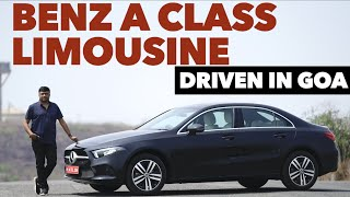 All new Mercedes Benz A Class LimousinePetrol Automatic driven in Goa | Review by Baiju N Nair